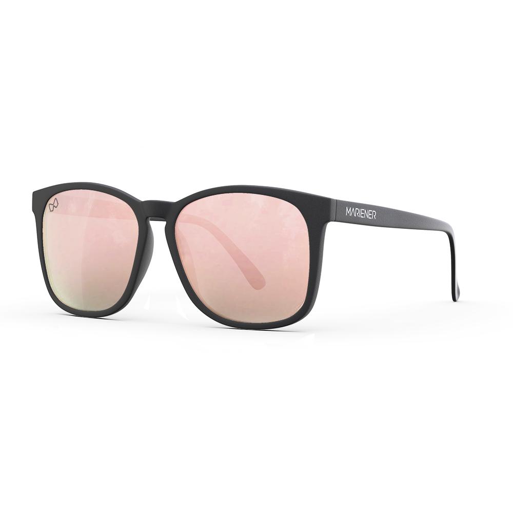 Mariener-Mana-Rubber-Matte-Black-Zwart-Rose-Gold-Oversized-Round-Sunglasses-Gepolarizeerde-Zonnebril-Angle