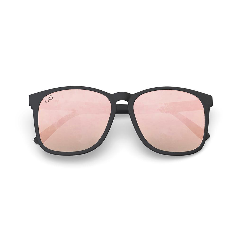 Mariener-Mana-Rubber-Matte-Black-Zwart-Rose-Gold-Oversized-Round-Sunglasses-Gepolarizeerde-Zonnebril-Overview