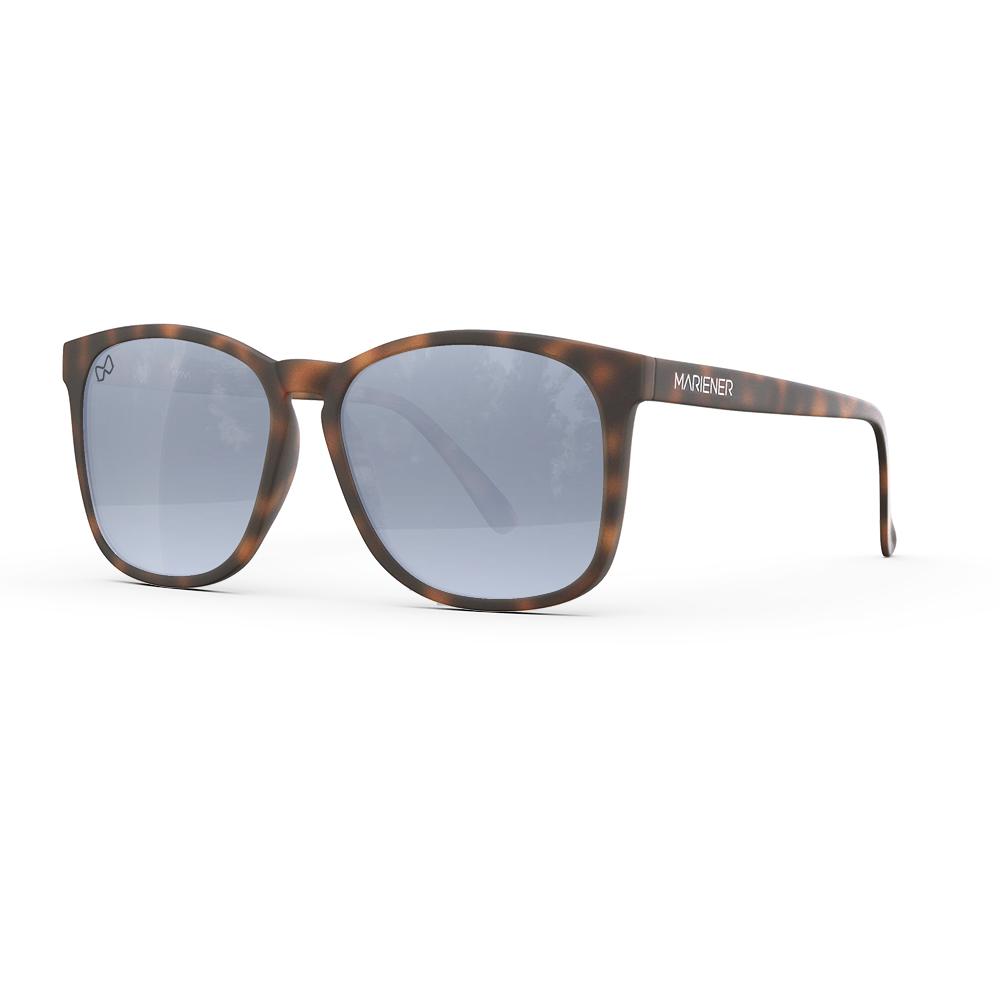 Mariener-Mana-Rubber-Matte-Tortoise-Dark-Silver-Oversized-Round-Sunglasses-Zonnebril-Angle