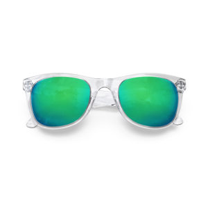 Melange Jr – Clear | Ocean Wayfarer Kids Sunglasses
