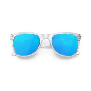 Melange Jr – Clear | Sky Wayfarer Kids Sunglasses