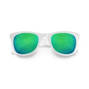 Melange Jr – Matte White | Ocean Wayfarer Kids Sunglasses