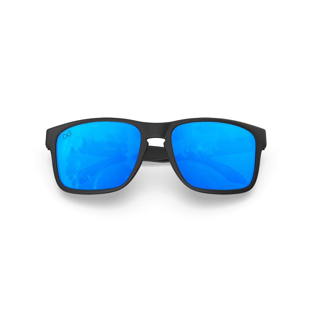 Mariener-Melange-Makan-Matte-Black-Sky-Adult-Sunglasses-Zonnebril-Volwassenen-Folded