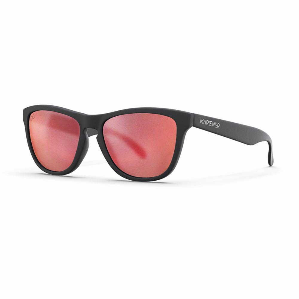 Mariener-Melange-Wayfarer-Rubber-Matte-Black-Matte-Reflective-Red-Lava-Wayfarer-Sunglasses-Matte-Lens-Zonnebril-Angle