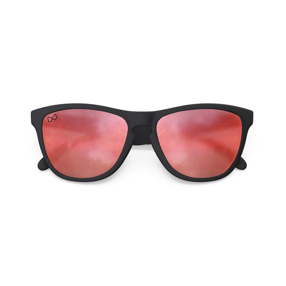 Mariener-Melange-Wayfarer-Rubber-Matte-Black-Matte-Reflective-Red-Lava-Wayfarer-Sunglasses-Matte-Lens-Zonnebril-Overview