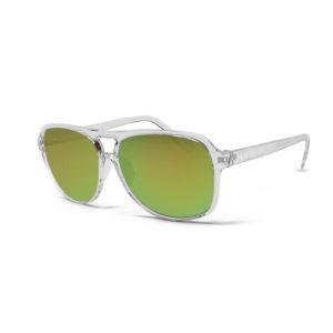 Motion – Clear | Jungle Aviator Sunglasses