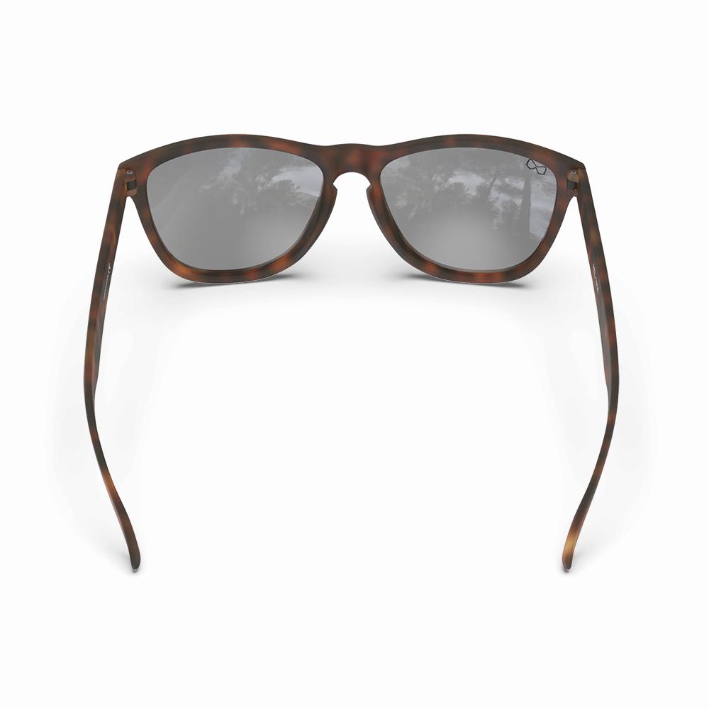 Mariener-Melange-Wayfarer-Rubber-Tortoise-Wayfarer-Sunglasses-Bruine-Zonnebril-Backside