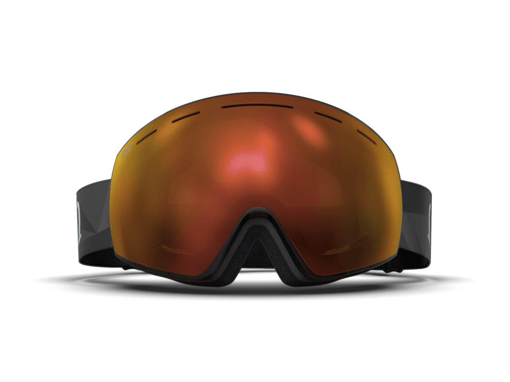 Mariener-Mountain-Black-Matte-Reflective-Orange-Lava-Spherical-Snow-Goggle-Matte-Lens-Ski-Snowboard-Bril-White-BG-Front