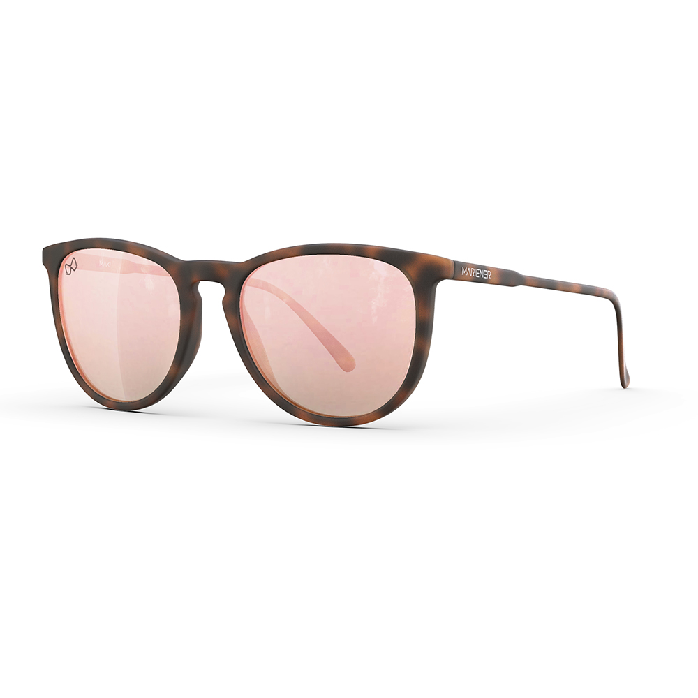 Mariener-Maki-Round-Rubber-Tortoise-Rose-Gold-Sunglasses-Bruine-Zonnebril-Angle