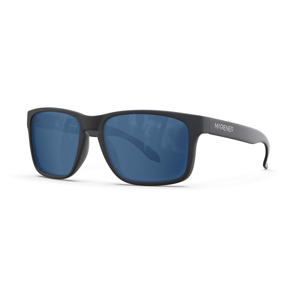 Mariener-Melange-Makan-Matte-Black-Rubber-Azure-Lens-Adult-Sunglasses-Zonnebril-Volwassenen-Angle