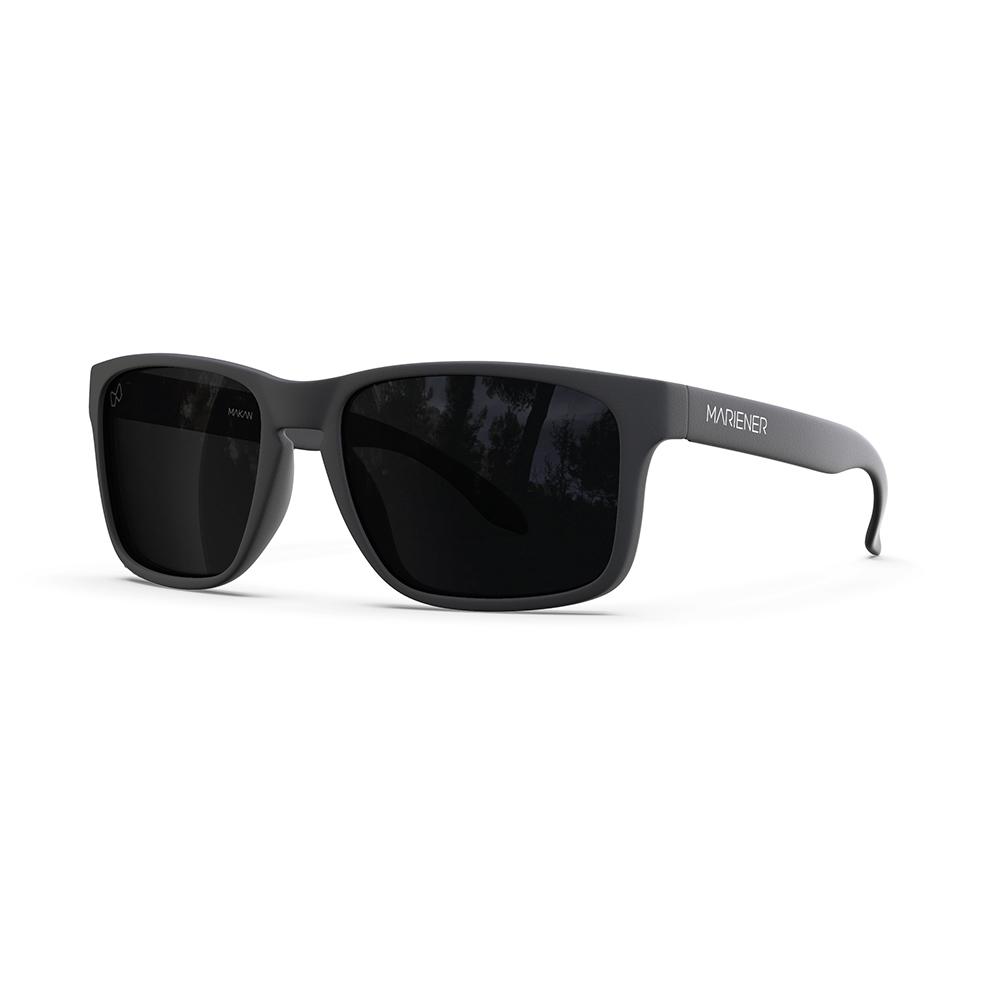 Mariener-Melange-Makan-Matte-Black-Rubber-Dark-Smoke-Polarized-Lens-Adult-Sunglasses-Gepolariseerde-Zonnebril-Volwassenen-Angle