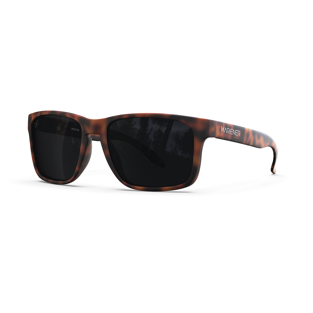 Mariener-Melange-Makan-Matte-Tortoise-Brown-Rubber-Dark-Smoke-Polarized-Lens-Adult-Sunglasses-Gepolariseerde-Zonnebril-Volwassenen-Angle