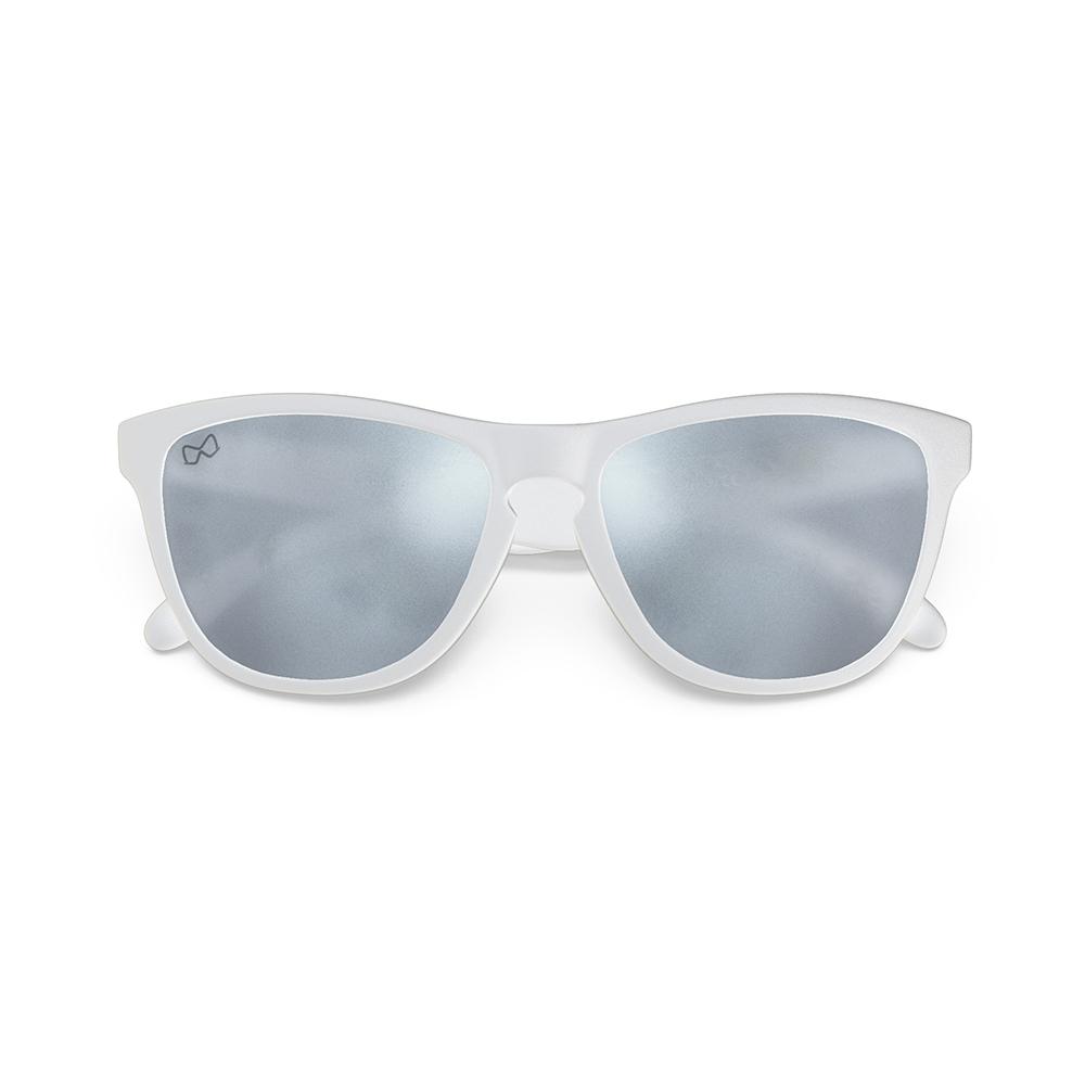 Mariener-Melange-Wayfarer-Matte-White-Rubber-Matte-Reflective-Dark-Silver-Wayfarer-Sunglasses-Matte-Lens-Zonnebril-Folded
