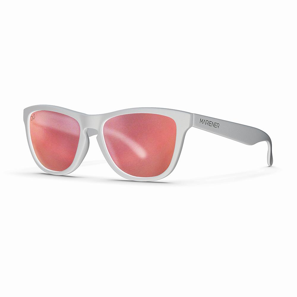 Mariener-Melange-Wayfarer-Matte-White-Rubber-Matte-Reflective-Red-Lava-Wayfarer-Sunglasses-Matte-Lens-Zonnebril-Angle