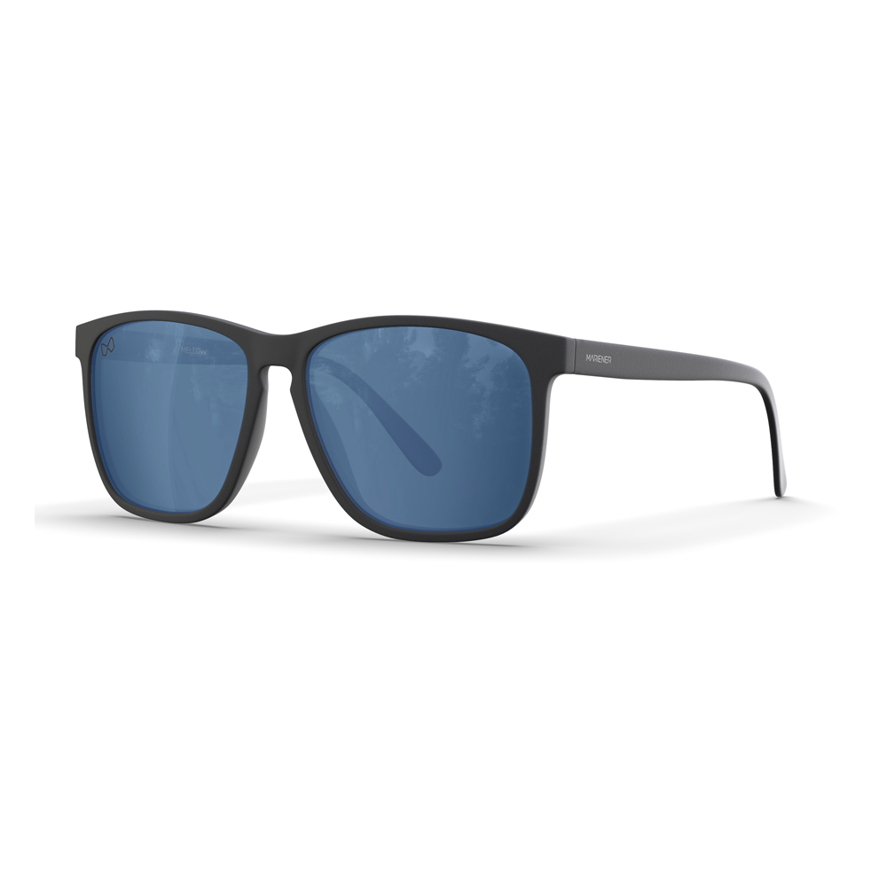 Mariener-Mellow-Rectangular-Matte-Black-Rubber-Spring-Hinge-Azure-Sunglasses-Zwarte-Rechthoekige-Zonnebril-Angle