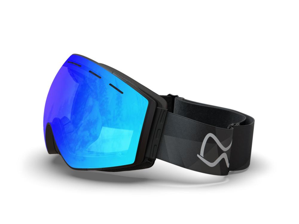 Mariener-Mountain-Black-Sky-Spherical-Snow-Goggle-Matte-Lens-Ski-Snowboard-Bril-White-BG-Angle